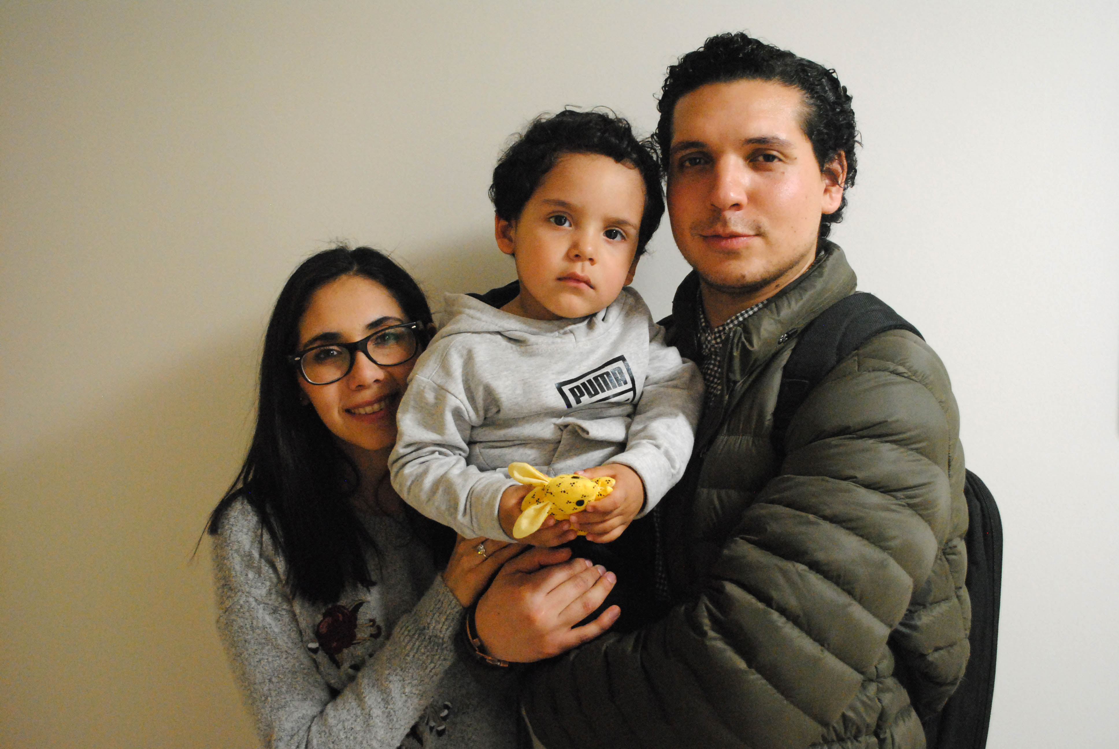 Emiliano Martínez and family